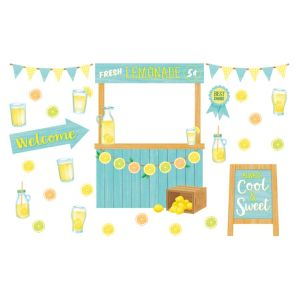 Lemon Zest Lemonade Stand Bulletin Board