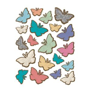 Home Sweet Classroom Butterflies Stickers