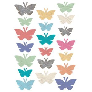 Home Sweet Classroom Butterfly Cut-Outs