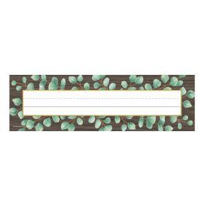 Eucalyptus Nameplates