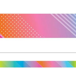 Colorful Vibes Border
