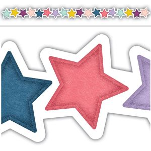Oh Happy Day Stars Die-Cut Border
