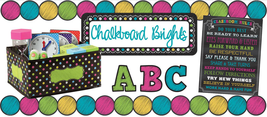 Chalkboard Bright Collection