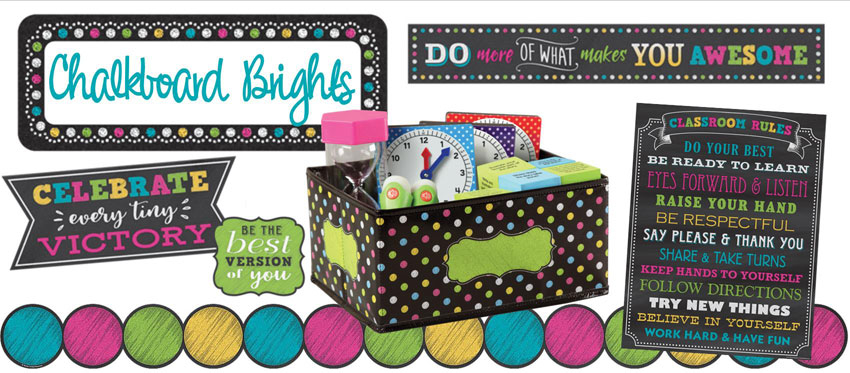 Chalkboard Brights Collection