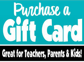 Teacher's Tools Gift Cards